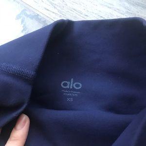 ALO Yoga Pants - Alo high waist moto leggings